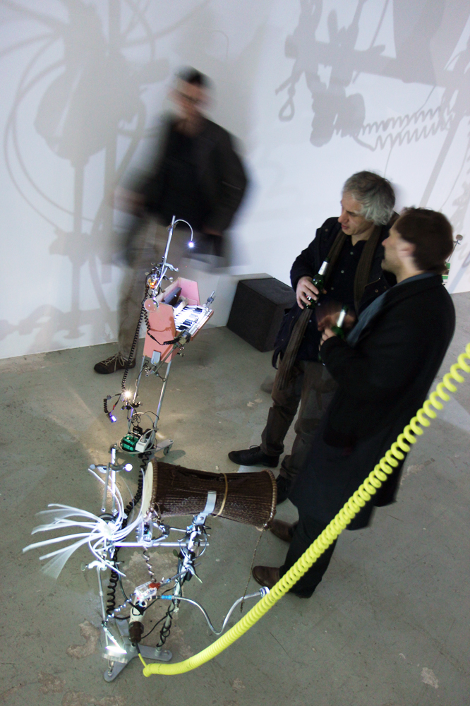 InstruMentalGespinst RaumZeitPiraten Neuer Wuppertaler  Kunstverein 2015