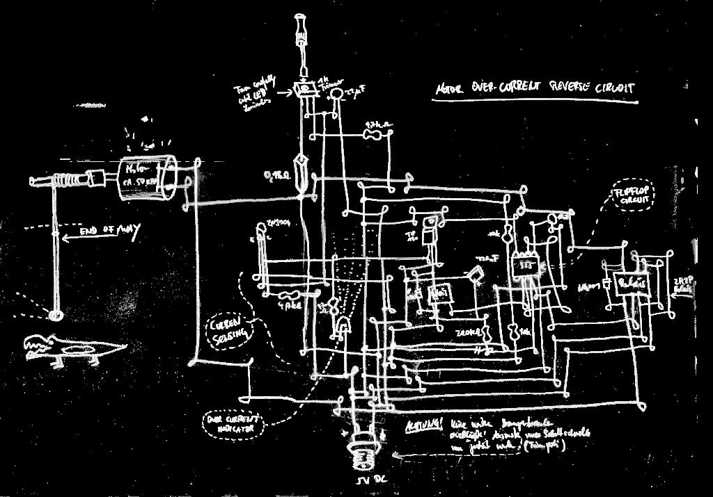 Over Current protection Circuit RaumZeitPiraten